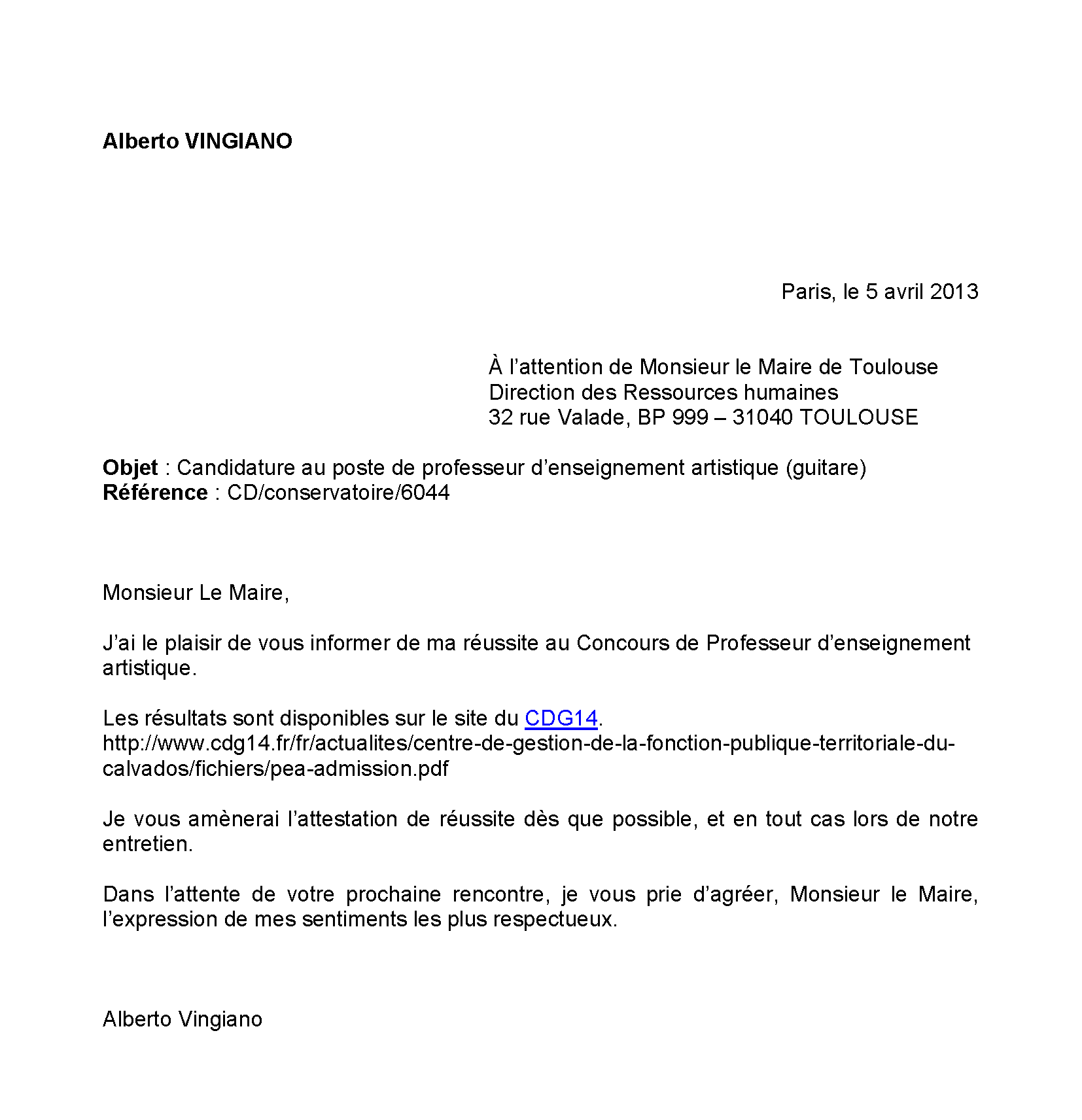 doc  lettre de motivation administration publique